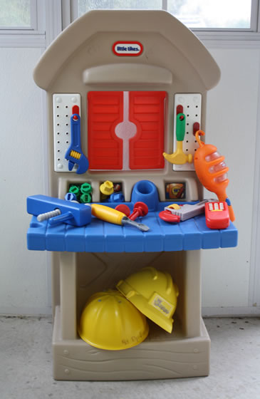 Toy toolshed